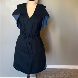 Saturday by Kate Spade navy blue dress